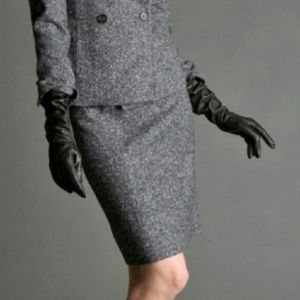 Banana Republic Mad Men Gray Wool Skirt